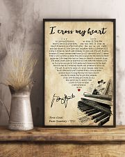 I cross my heart 24x36 Poster lifestyle-poster-3