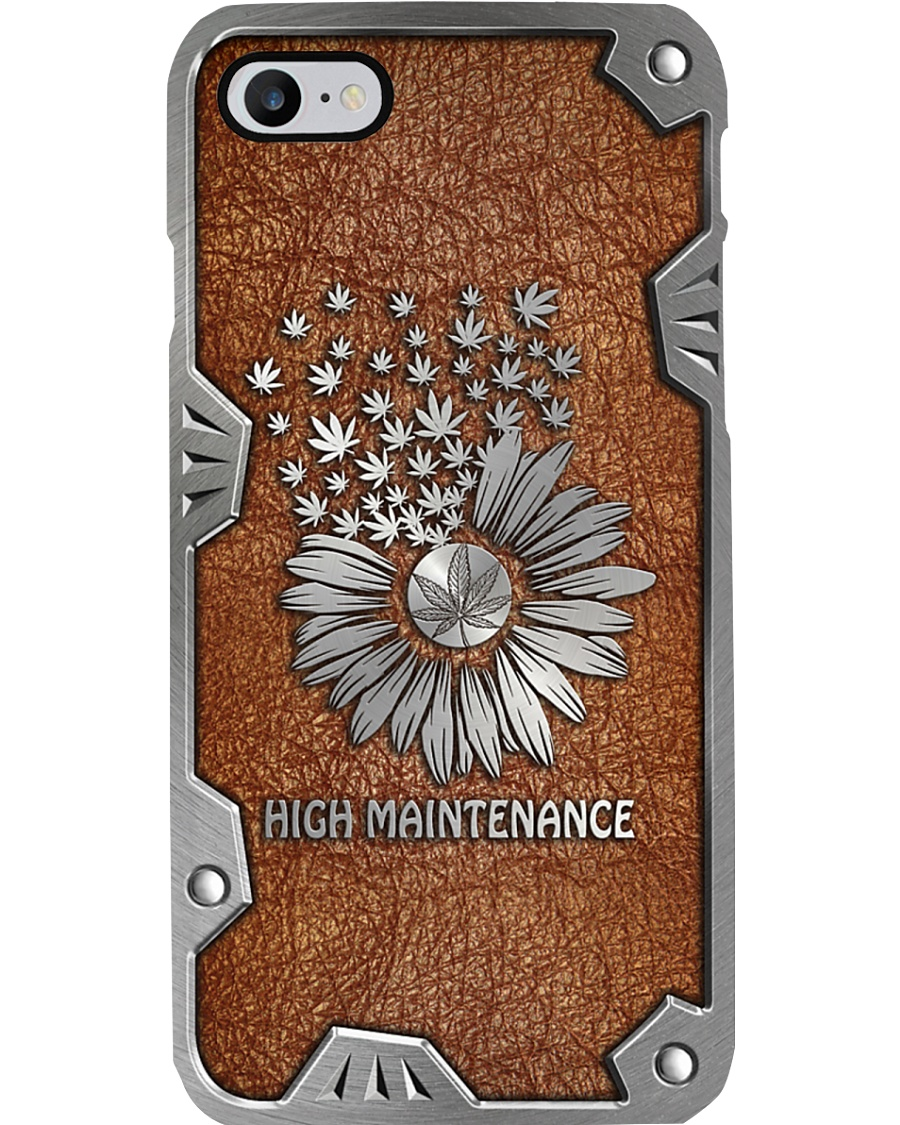 Sunflower weed high maintenance Phone Case