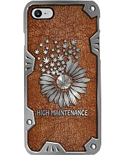 Sunflower weed high maintenance Phone Case i-phone-7-case