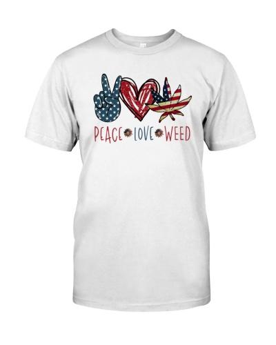 Weed Peace Love
