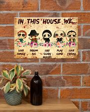 In This House 17x11 Poster poster-landscape-17x11-lifestyle-23