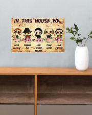 In This House 17x11 Poster poster-landscape-17x11-lifestyle-24
