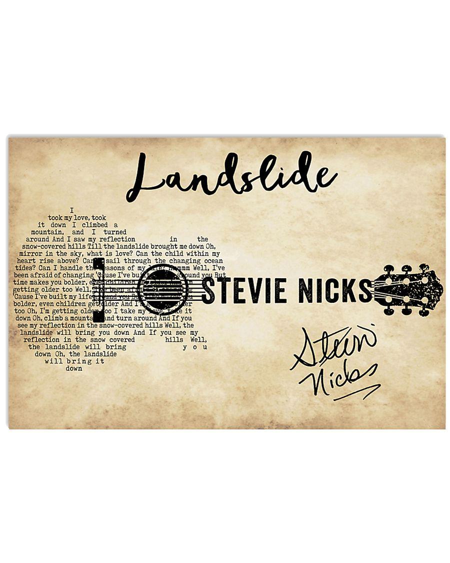 Landslide 36x24 Poster