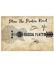 Bless The Broken Road 36x24 Poster front