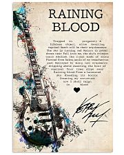 Rainning Blood 24x36 Poster front