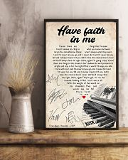 Have faith in me 24x36 Poster lifestyle-poster-3