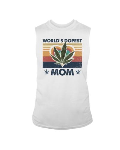 Retro World's best dopest mom