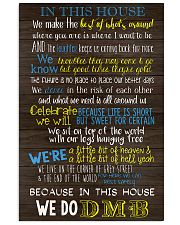 In This House Vertical Poster tile