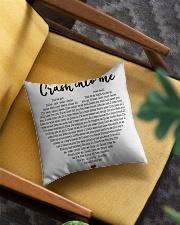 Crash Into Me Square Pillowcase aos-pillow-square-front-lifestyle-07