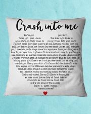 Crash Into Me Square Pillowcase aos-pillow-square-front-lifestyle-2