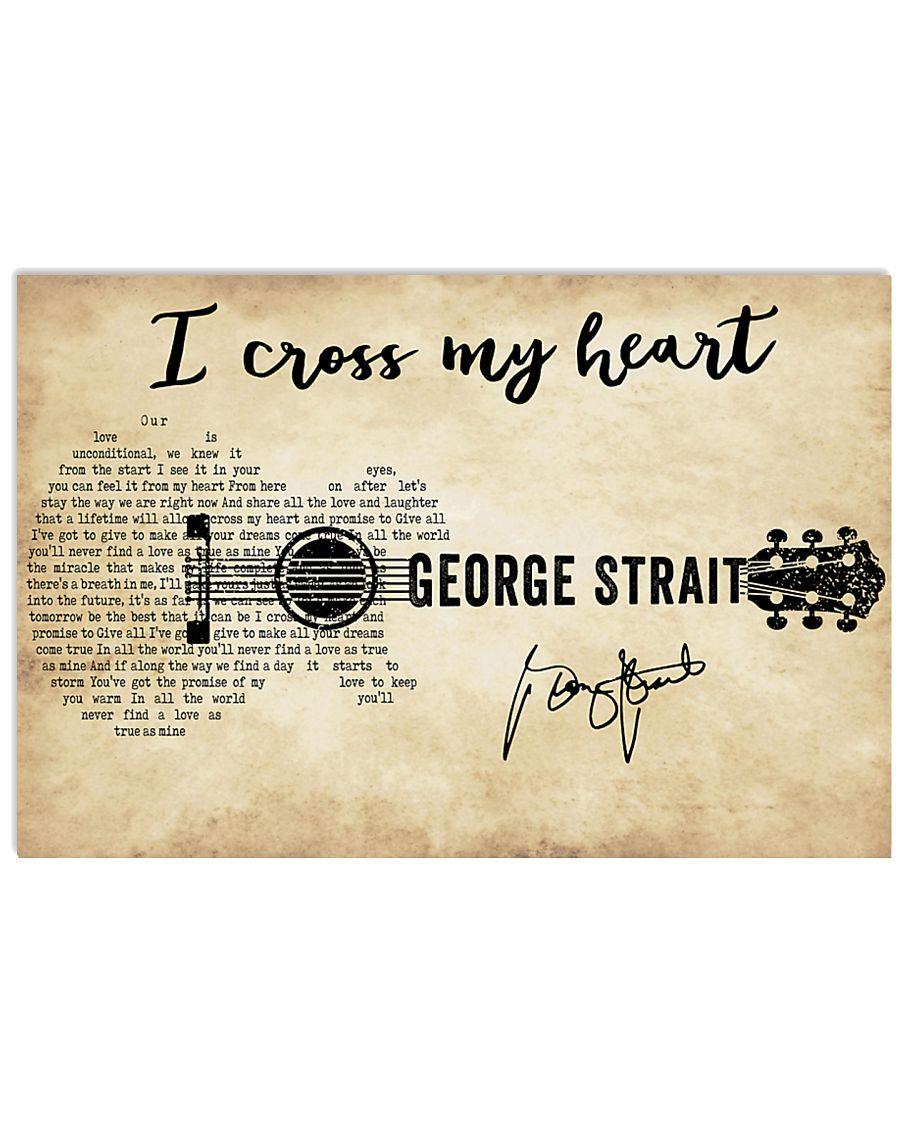 I Cross My Heart 36x24 Poster