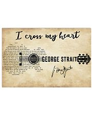 I Cross My Heart 36x24 Poster front