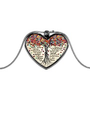 In This House Metallic Heart Necklace thumbnail