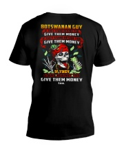 GIVE-THEM-MONEY V-Neck T-Shirt thumbnail
