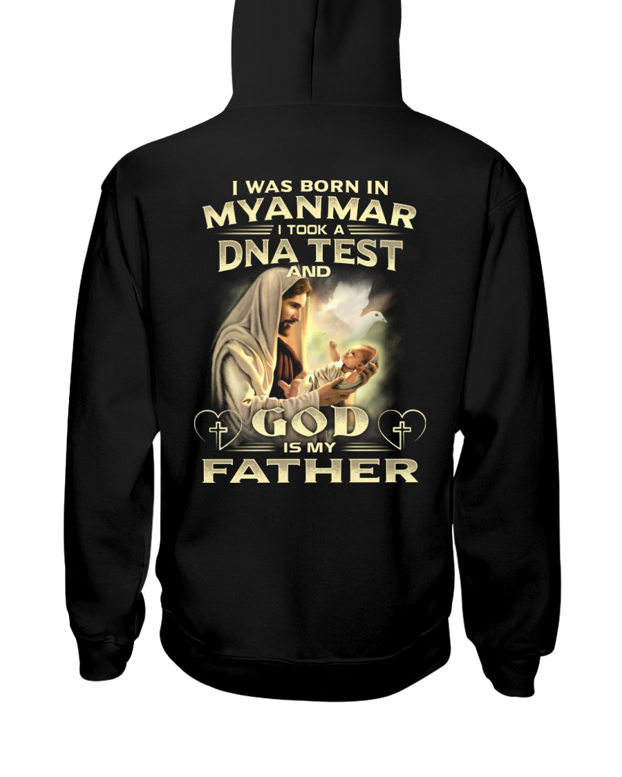 GOD-IS-MY-FATHER Hooded Sweatshirt