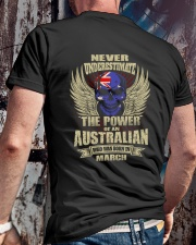 THE POWER AUSTRALIAN - 03 Classic T-Shirt lifestyle-mens-crewneck-back-2