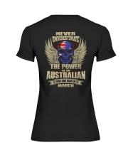 THE POWER AUSTRALIAN - 03 Premium Fit Ladies Tee thumbnail