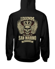 LEGENDS Hooded Sweatshirt back