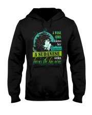 A-WISE-GIRL Hooded Sweatshirt front