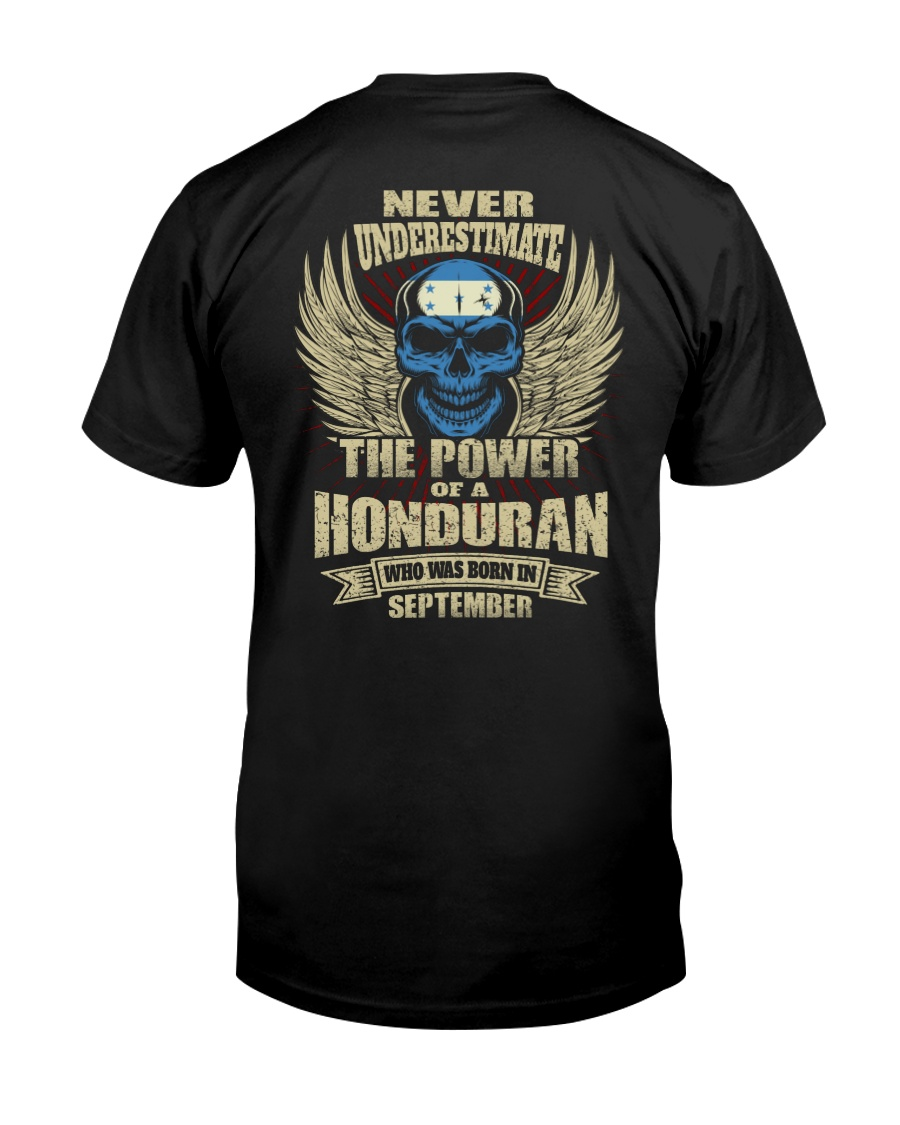 THE POWER HONDURAN - 09 Classic T-Shirt