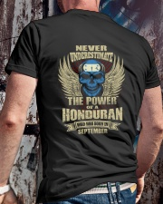 THE POWER HONDURAN - 09 Classic T-Shirt lifestyle-mens-crewneck-back-2