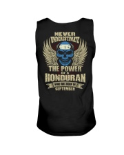 THE POWER HONDURAN - 09 Unisex Tank thumbnail