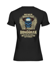 THE POWER HONDURAN - 09 Premium Fit Ladies Tee thumbnail