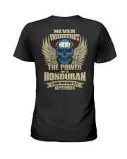 THE POWER HONDURAN - 09 Ladies T-Shirt thumbnail