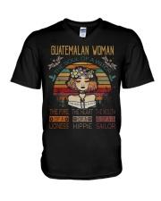 GUATEMALAN V-Neck T-Shirt thumbnail