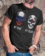 My Home Russia-Korea Classic T-Shirt lifestyle-mens-crewneck-front-4