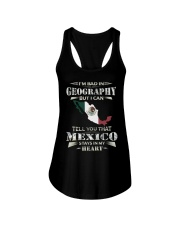 In My Heart - Mexico Ladies Flowy Tank thumbnail