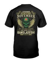 LEGENDS BANGLADESHI - 011 Classic T-Shirt back