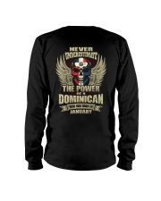 THE POWER DOMINICAN - 01 Long Sleeve Tee thumbnail