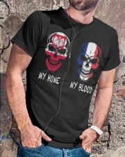 My Home Poland- France Classic T-Shirt lifestyle-mens-crewneck-front-4