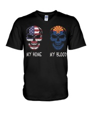 My Blood Arizona V-Neck T-Shirt tile