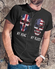My Home United Kingdom - America Classic T-Shirt lifestyle-mens-crewneck-front-4