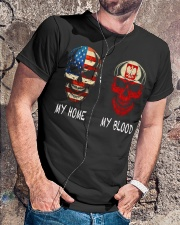 MY BLOOD - POLISH Classic T-Shirt lifestyle-mens-crewneck-front-4