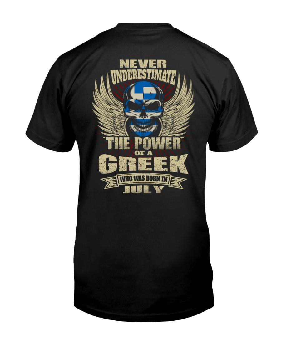 THE POWER GREEK - 07 Classic T-Shirt