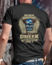 THE POWER GREEK - 07 Classic T-Shirt lifestyle-mens-crewneck-back-2