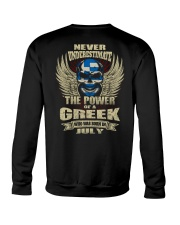 THE POWER GREEK - 07 Crewneck Sweatshirt thumbnail