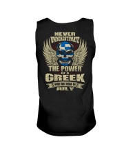 THE POWER GREEK - 07 Unisex Tank thumbnail