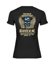 THE POWER GREEK - 07 Premium Fit Ladies Tee thumbnail