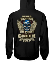 THE POWER GREEK - 07 Hooded Sweatshirt thumbnail
