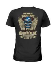 THE POWER GREEK - 07 Ladies T-Shirt thumbnail