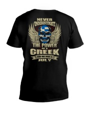 THE POWER GREEK - 07 V-Neck T-Shirt thumbnail