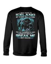 I-WAS-BORN-IN Crewneck Sweatshirt thumbnail
