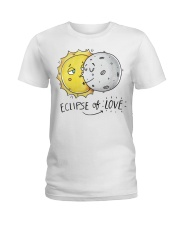 COUPLE- ECLIPSE of LOVE Ladies T-Shirt thumbnail