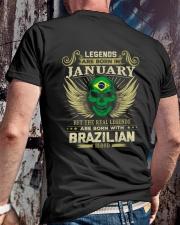 LEGENDS BRAZILIAN - 01 Classic T-Shirt lifestyle-mens-crewneck-back-2