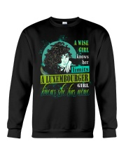 A-WISE-GIRL Crewneck Sweatshirt thumbnail