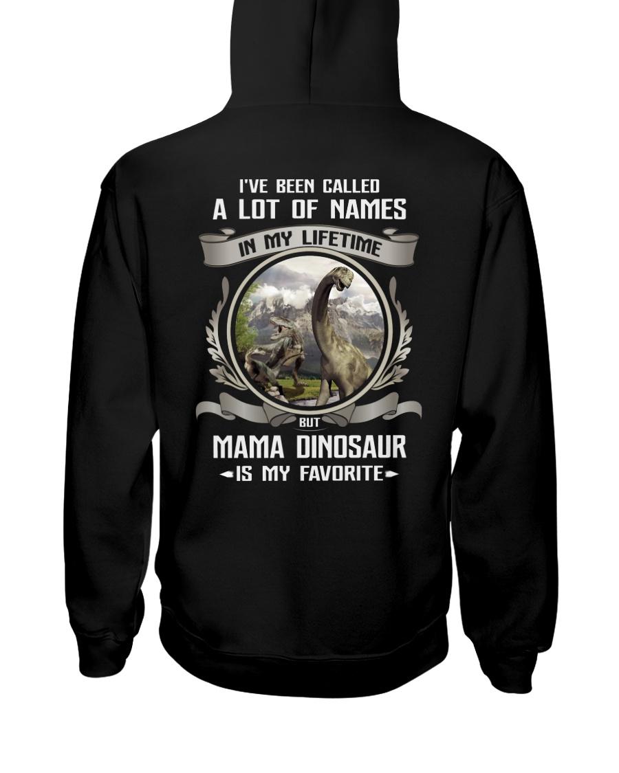 mama dinosaur Hooded Sweatshirt